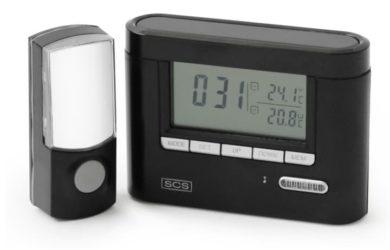 carillon sans fil thermomètre