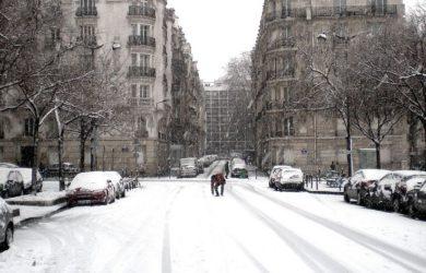 équipement d'hiver obligatoire pour les voitures à paris